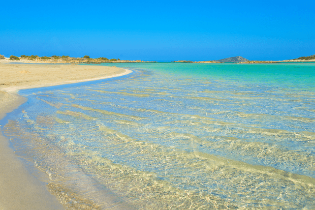 Elafonisi Beach in greece