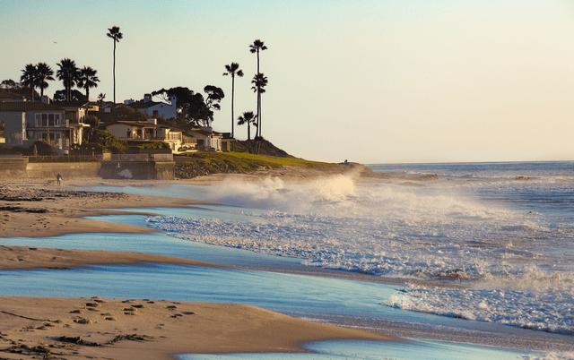 La Jolla beach in california