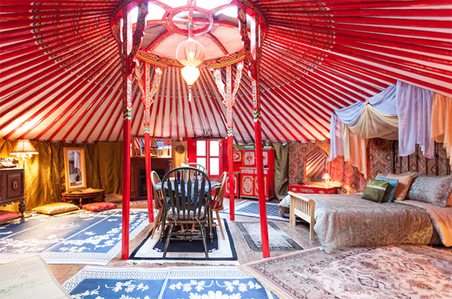 unique airbnb glamping spots
