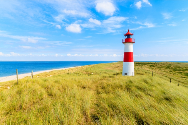 Sylt beaches in germany