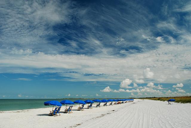 top 5 beaches in florida