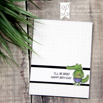 I'll Be Brief by Jessica Frost-Ballas for Lil' Inker Designs