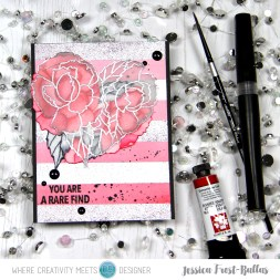 You are a Rare Find by Jessica Frost-Ballas for Where Creativity Meets C9