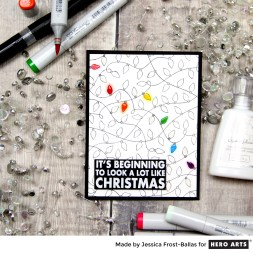 It's Beginning to Look a Lot Like Christmas by Jessica Frost for Hero Arts