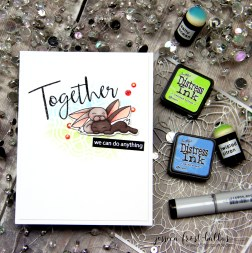 Together We Can Do Anything by Jessica Frost-Ballas for Simon Says Stamp