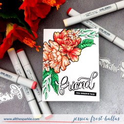 Friend by Jessica Frost-Ballas for Simon Says Stamp
