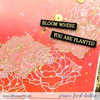 Autumn Ink Blending and The Rabbit Hole Designs