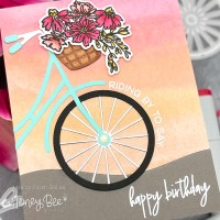 """Building a """"Bike"""" and the Summer Stems Release from Honey Bee Stamps!"""