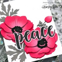 Lovely Layers: Anemone - Honey Bee Stamps Vintage Christmas Release