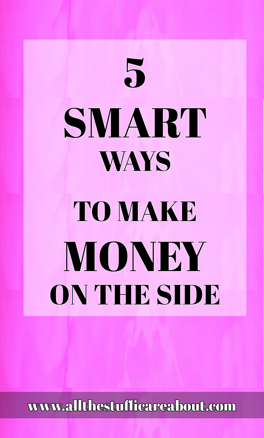 5 smart ways to make money on the side