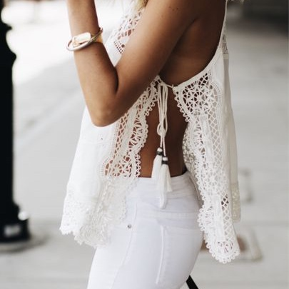 white pants outfits