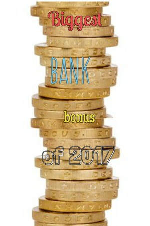 biggest bank bonus