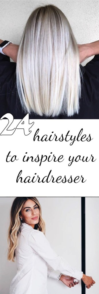 24 hairstyles to inspire your hairdresser