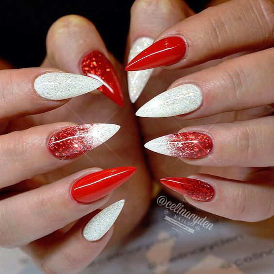Red And Silver Nail Designs | Graham Reid