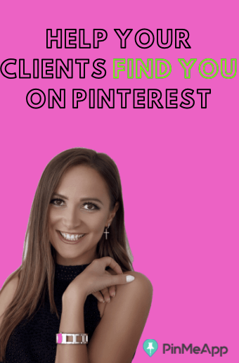 help your clients find you on Pinterest