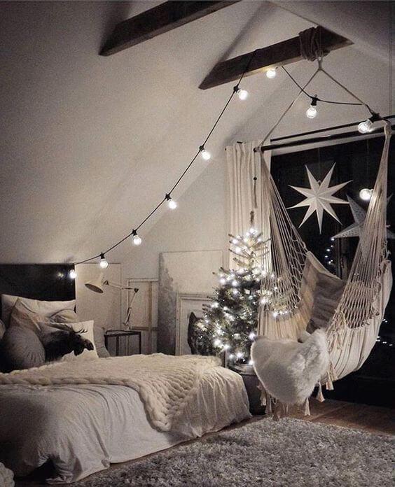 Cosy bedroom idea