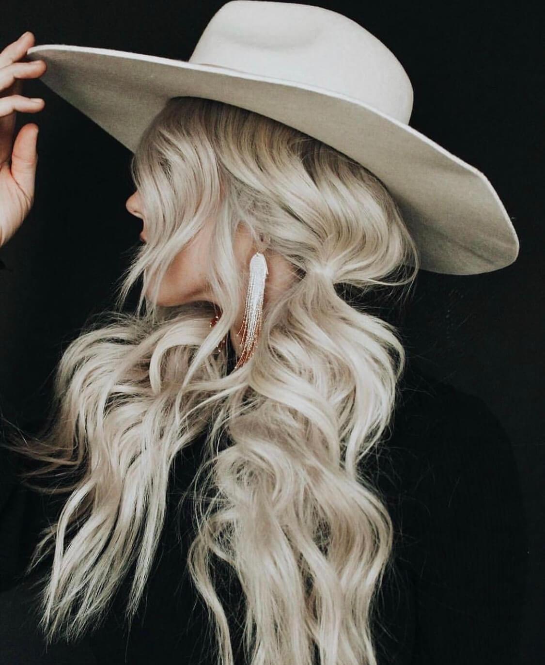 blond hairstyle long 2019 haircut wedding