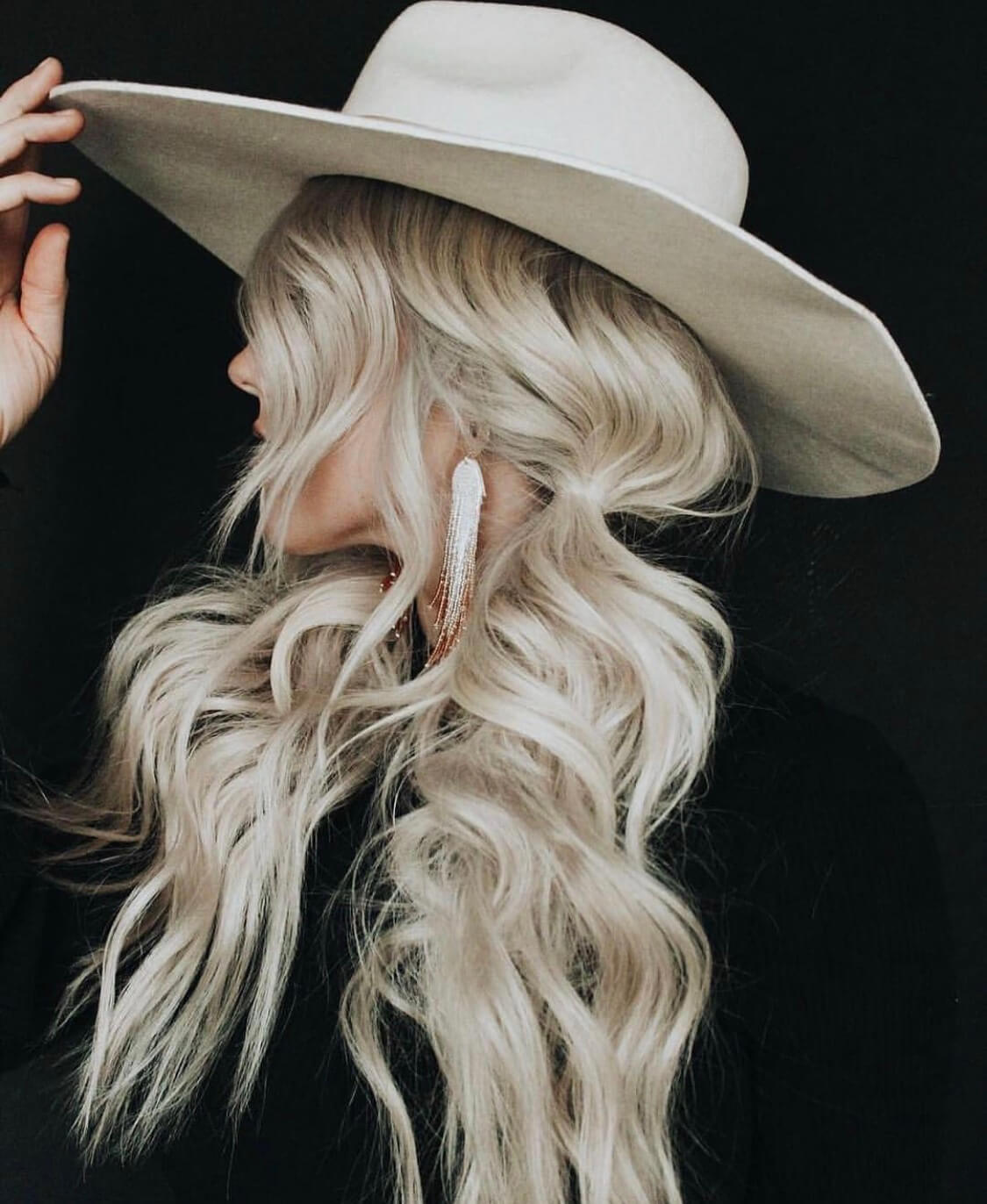 blond hairstyle long 2019 haircut wedding