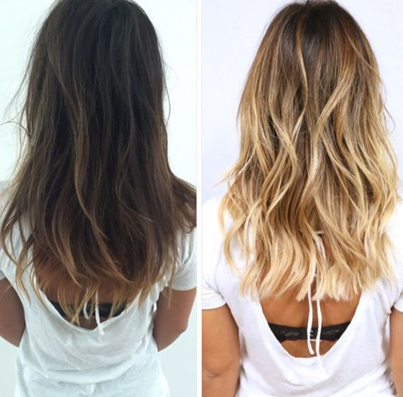 going blonde before after hairstyle ideas