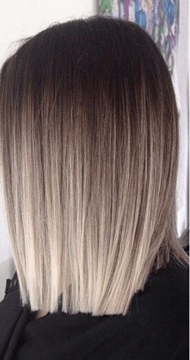 Ideas to go blonde - Icy short ombre