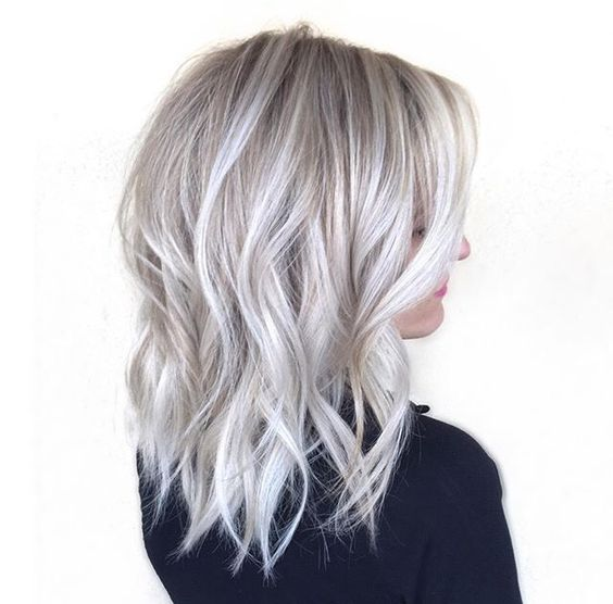 Ideas To Go Blonde Short Icy Balayage Allthestufficareabout Com