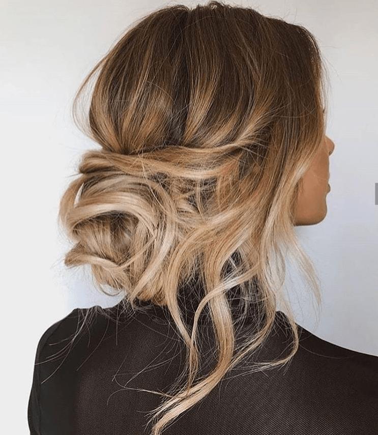 Ideas to go blonde - warm long balayage