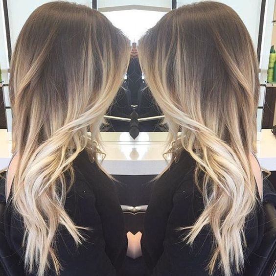 Ideas To Go Blonde Long Warm Ombre