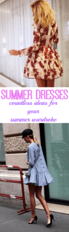 summer dresses ideas for your wardrobe