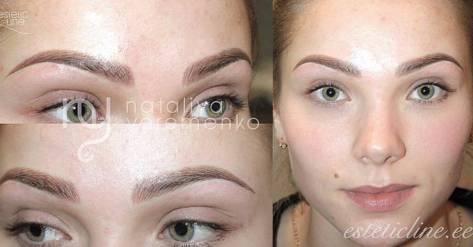 How To Shape Perfect Brows Permanent Brows Microblading Powder