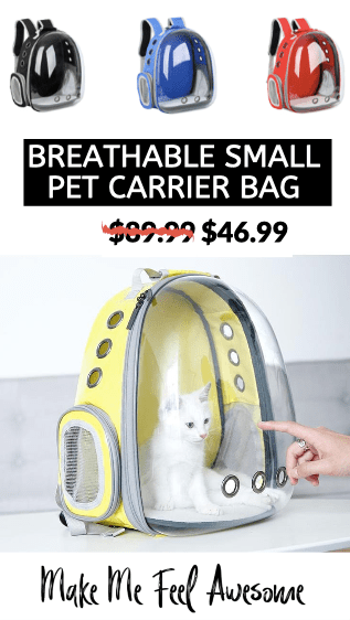 small rabbit bag breathable carrier pet #petcarrier