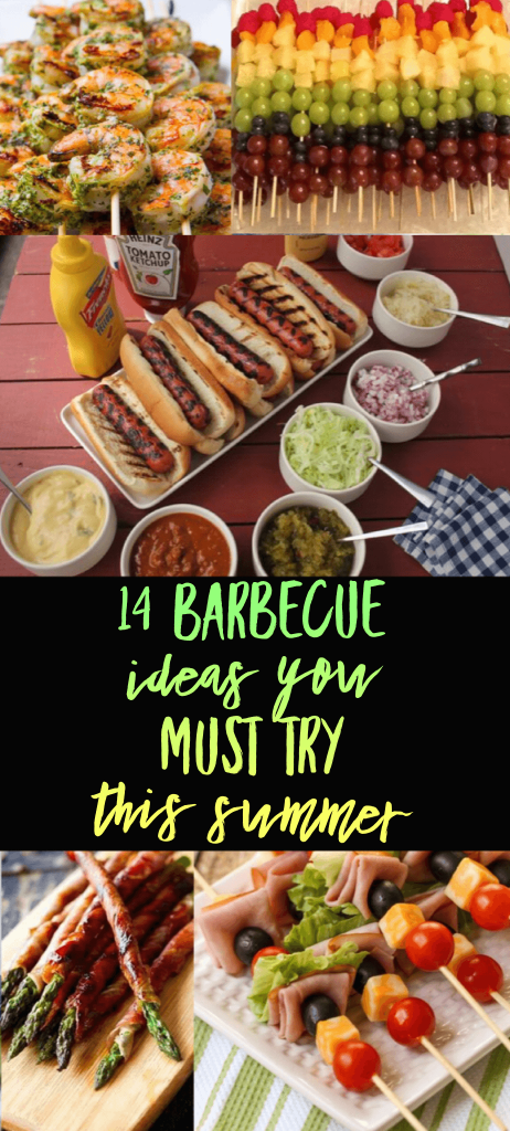 14 barbecue ideas you must try this summer