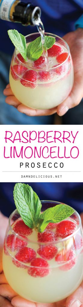 Barbecue Party limoncello prosecco