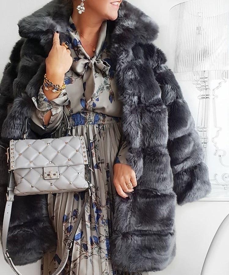 Valentino Garavani grey bag luxury