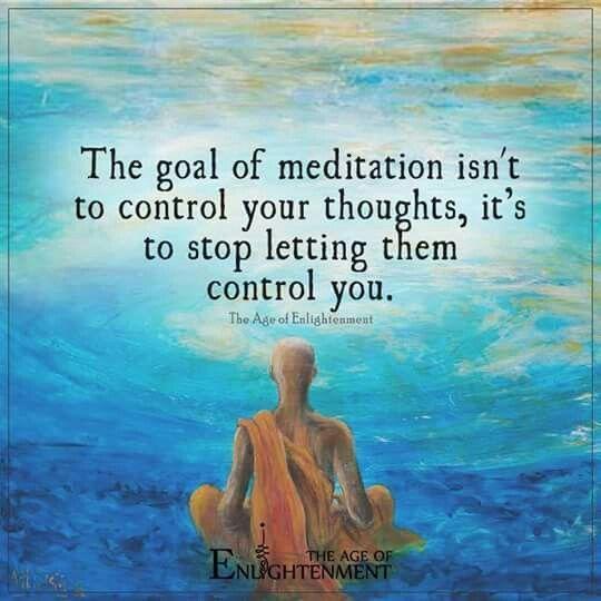 meditation goal