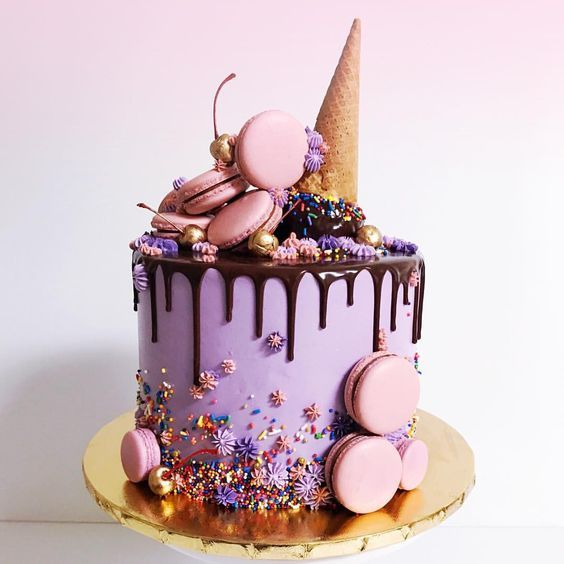 macaron cake, birthday cake, drip cake, ice cream birthday cake, pastel birthday cake, unicorn cake, birthday celebrations, epic cake, awesome birthday cake, girly birthday cake