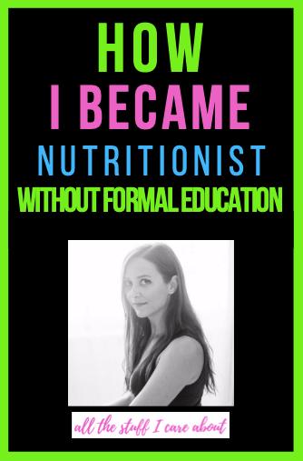 nutritionist, first business, enterprenour