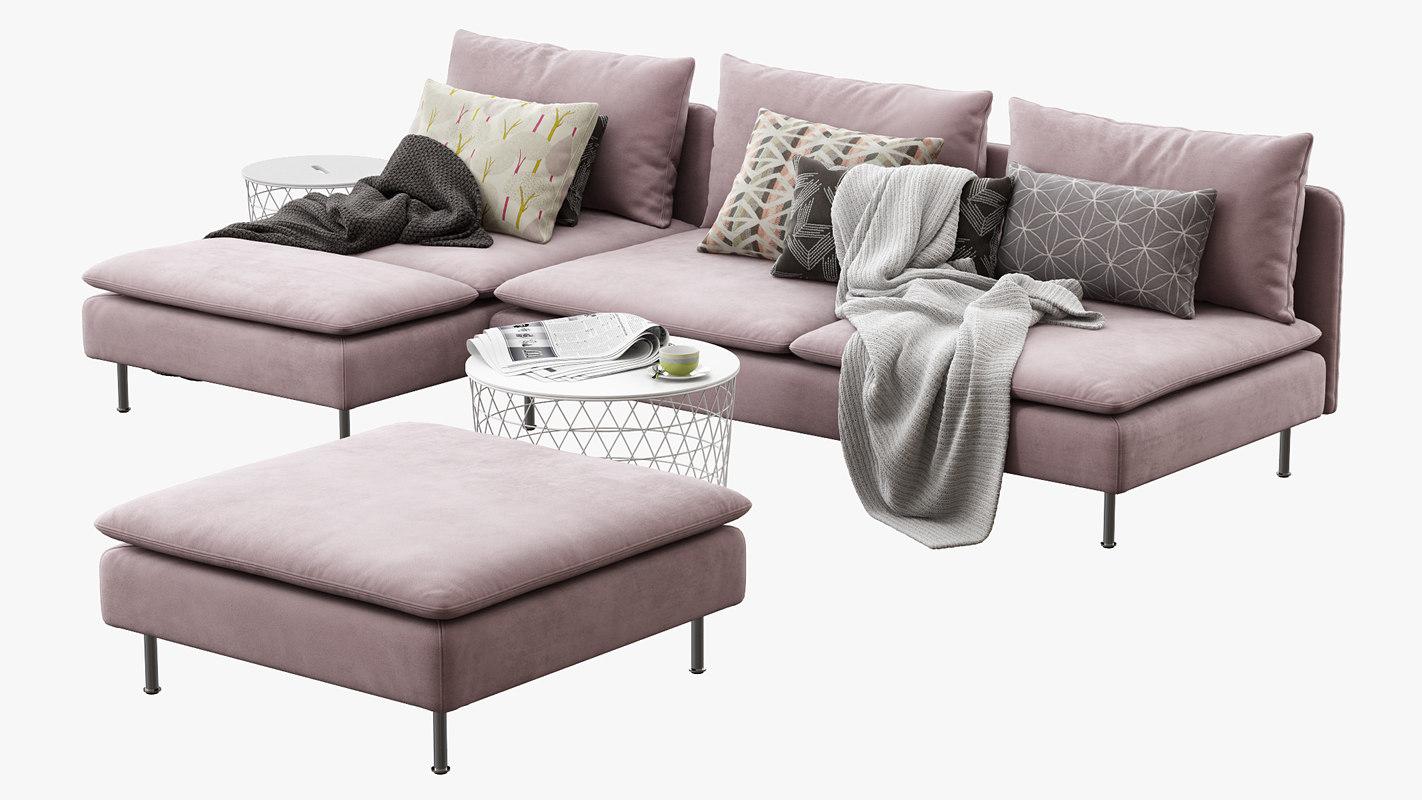 soderhamn grey comfy cozy sofa