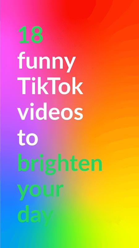 18 funny TikTok videos to brighten your day