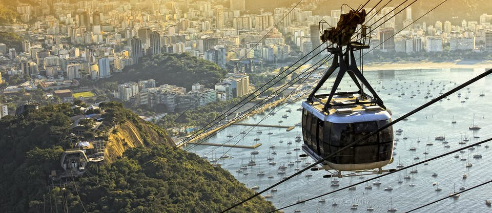 pao de acucar cable car rio de janeiro brazil