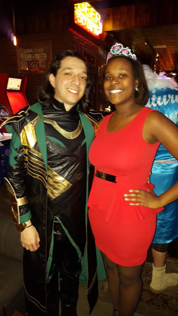 Mark and I this past Halloween