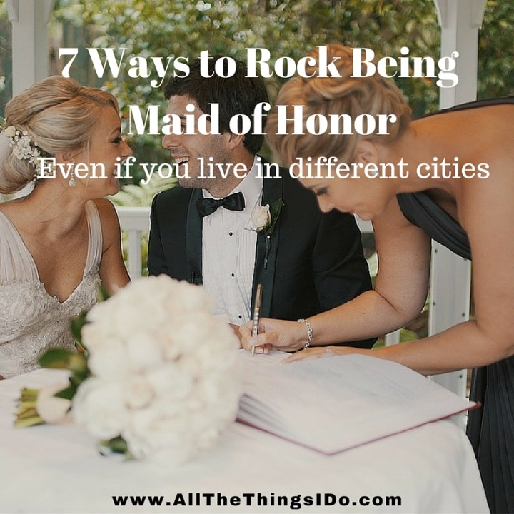 7 Ways to Rock Being Maid of Honor