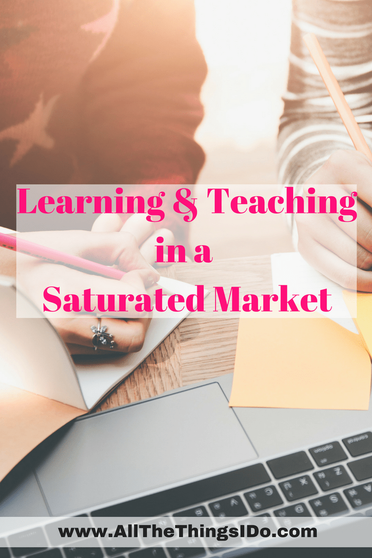 Can you still teach when there is a lot of competition in your market?