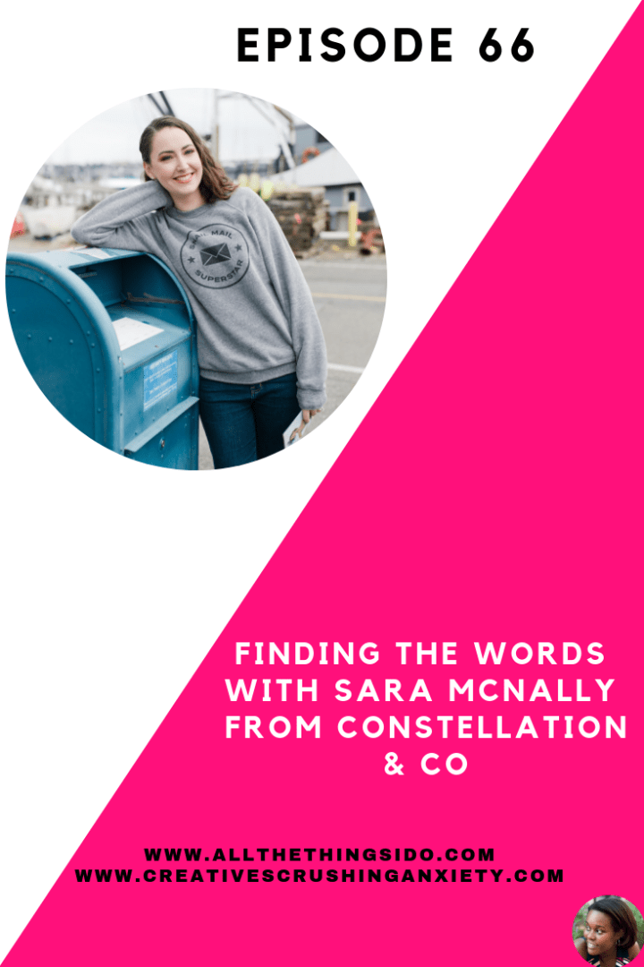 Finding The Words With Sara McNally from Constellation & Co