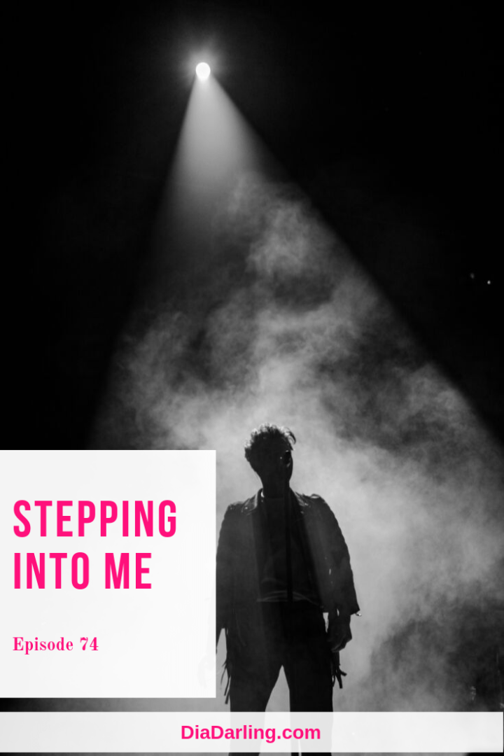 Stepping into me