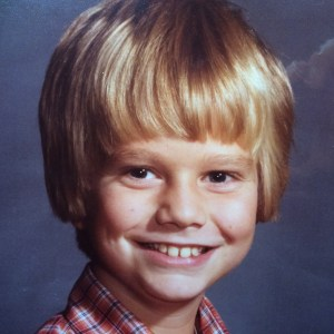 Steve Light as a child