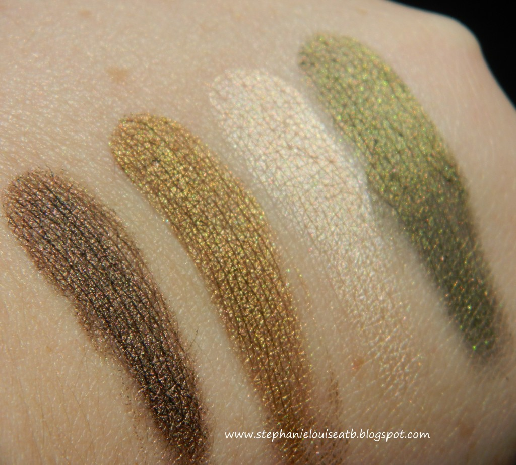 NEW Maybelline Fall 2012 Limited Edition 24 Hour Color Tattoo Swatches & Review!