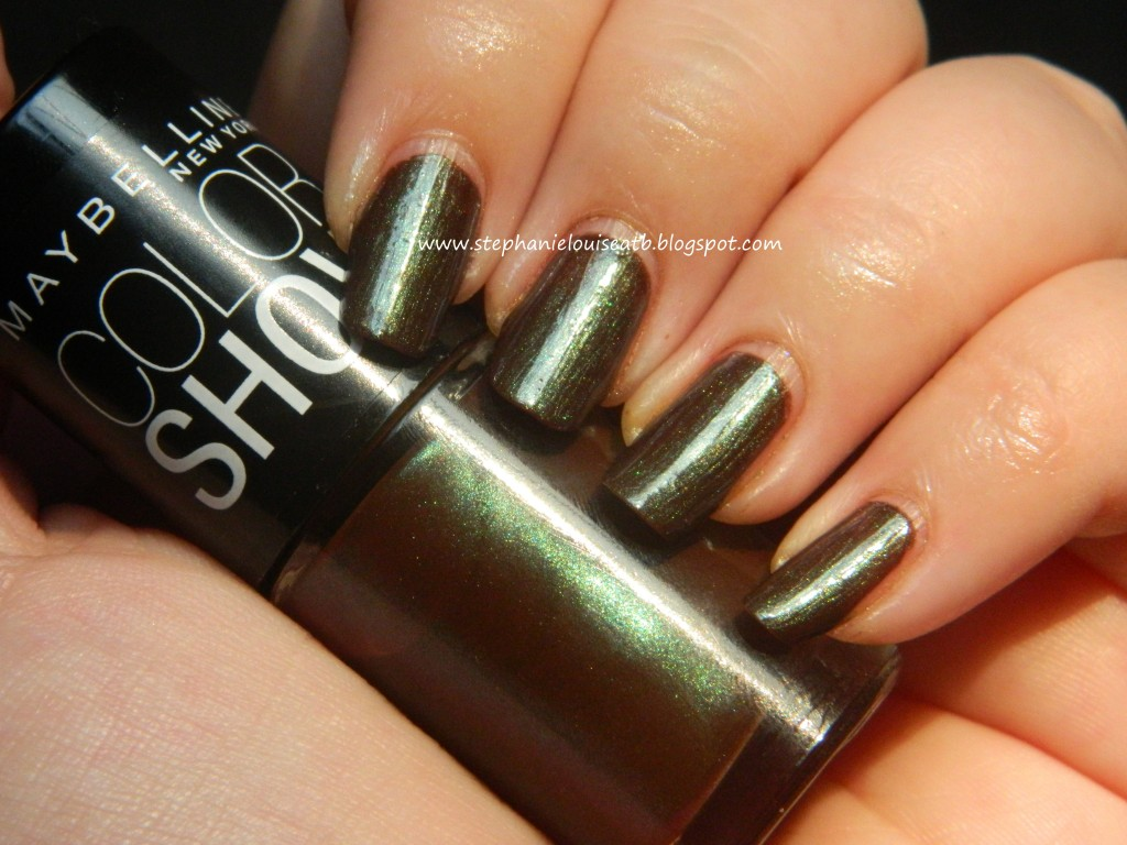 Maybelline Limited Edition Color Show Nail Polish Swatches & Review ...