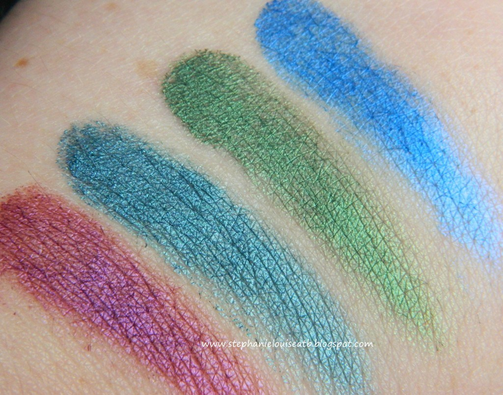 Maybelline NEW Jewel Toned Color Tattoo Swatches & Review!