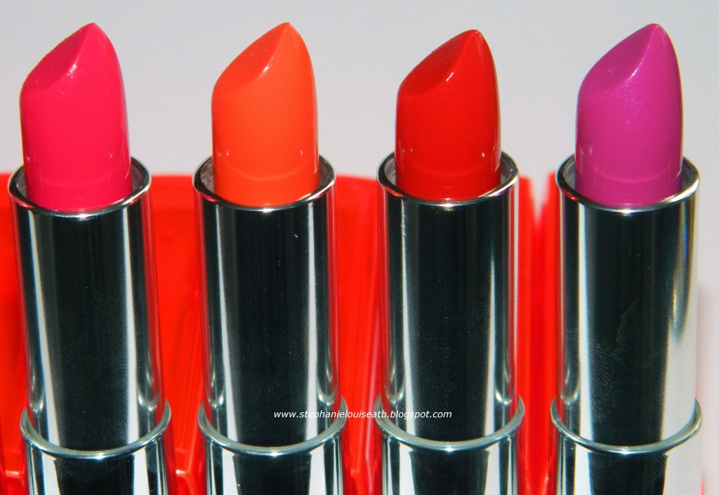 NEW Maybelline Color Sensational Vivid Lipsticks Swatches & Review