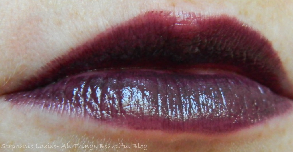Maybelline Limited Edition Fall 2013 Purple Lipsticks & Gloss Review + Lip Swatches